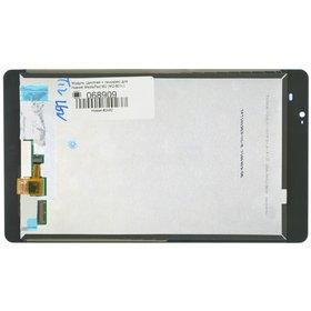 Модуль (дисплей + тачскрин) для Huawei MediaPad M2 (M2-801L) белый без рамки