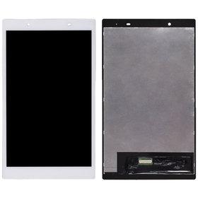 Модуль (дисплей + тачскрин) для Lenovo Tab 4 TB-8504X LTE белый