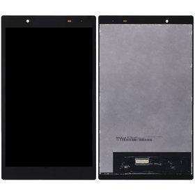Модуль (дисплей + тачскрин) для Lenovo Tab 4 TB-8504X LTE черный