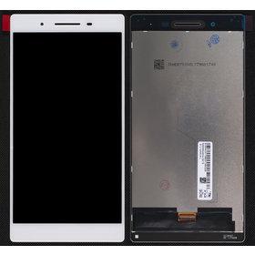 Модуль (дисплей + тачскрин) для Lenovo Tab 4 TB-7504X белый