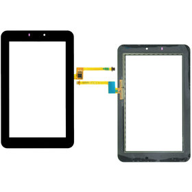 Тачскрин для Huawei MediaPad 7 Youth (S7-701W) HMCF-070-0880-V5 черный (Без отверстия под динамик)