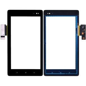 Тачскрин Huawei S7-201u Synaptics 940-1619-1R2 TM2263 черный