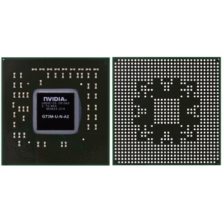G73M-U-N-A2 (G07600) - Видеочип nVidia Микросхема
