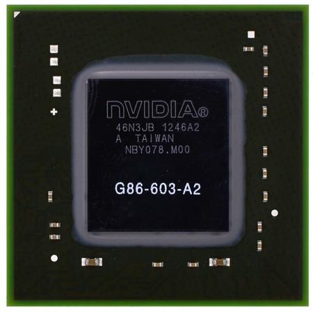G86-603-A2 (8400M GT) - Видеочип nVidia Микросхема