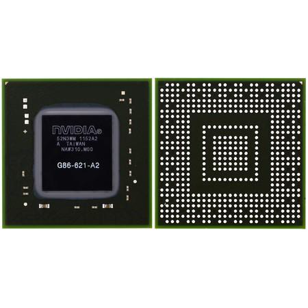 G86-621-A2 (8400M GS) - Видеочип nVidia Микросхема