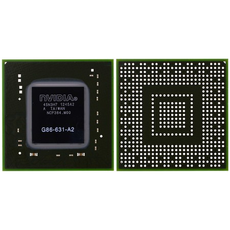 G86-631-A2 (8400M GS, 128 bit) - Видеочип nVidia Микросхема