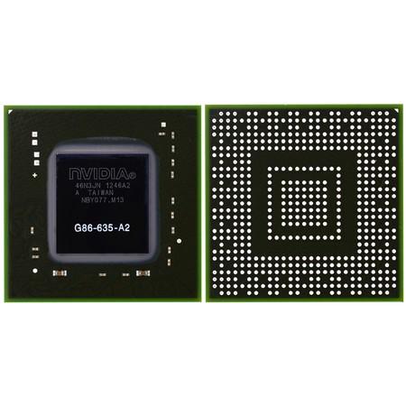 G86-635-A2 (9300M G) - Видеочип nVidia Микросхема