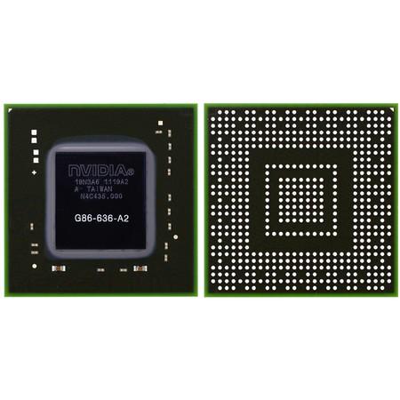 G86-636-A2 (9300M G) - Видеочип nVidia Микросхема