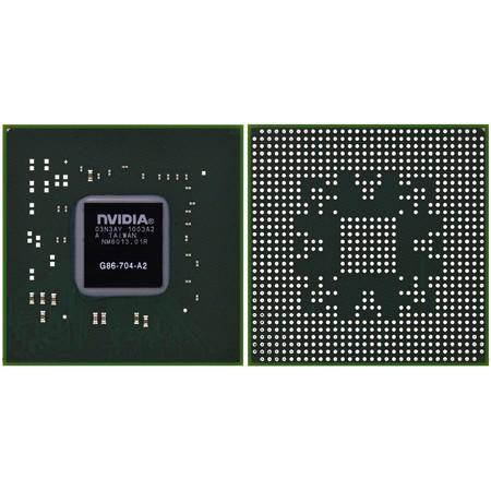 G86-704-A2 (8400M GS) - Видеочип nVidia Микросхема