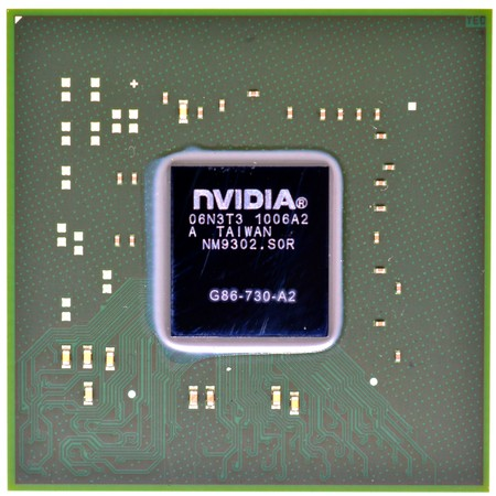 G86-730-A2 (8600M GS) - Видеочип nVidia Микросхема