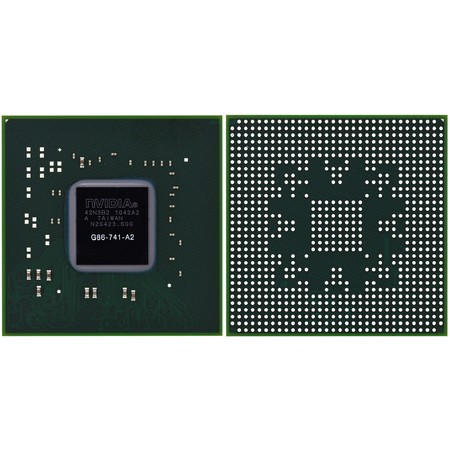 G86-741-A2 (8400M GS) - Видеочип nVidia Микросхема