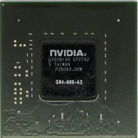 G84-600-A2 (8600M, 128bit) - Видеочип nVidia Микросхема