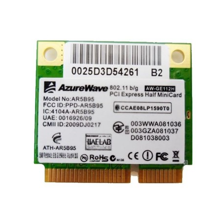 Модуль связи Wi-Fi 802.11b/g/n Half Mini PCI-E - Foxconn T77H121.01 (PPD-AR5B95)