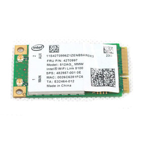 Модуль связи Mini PCI-E Wi-Fi 802.11a/b/g/n - FCC ID: PD9512ANM
