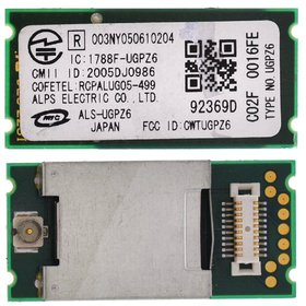 Модуль Bluetooth - FCC ID: CWTUGPZ6