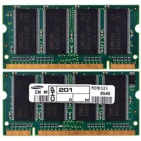 Оперативная память для ноутбука / DDR / 256Mb / 2700S / 333 Mhz