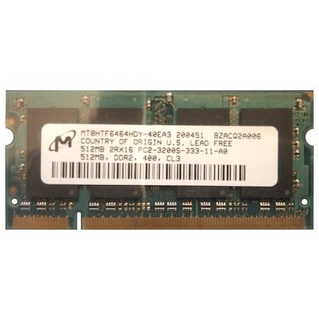 Оперативная память для ноутбука / DDR2 / 512Mb / 3200S / 400 Mhz