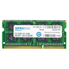 Оперативная память для ноутбука / DDR3 / 4Gb / 10600S / 1333 Mhz