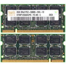 MT16HTF25664HY Оперативная память для ноутбука / DDR2 / 2Gb / 5300S / 667 Mhz