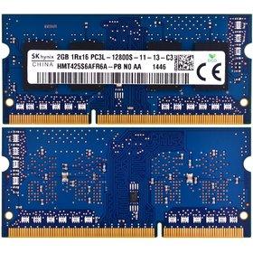 Оперативная память для ноутбука / DDR3L / 2Gb / 12800S-11-13-xx / 1600 MHz HP Pavilion 17-f050sr