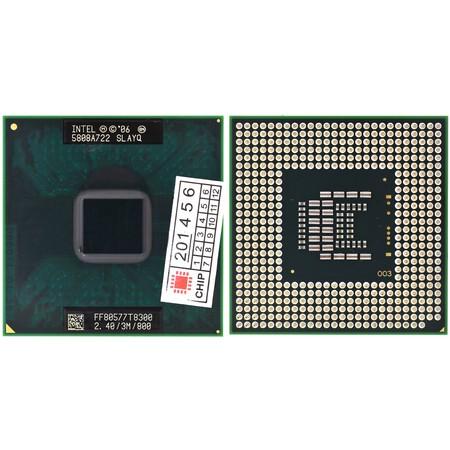 Процессор Intel Core 2 Duo T8300 (SLAYQ)