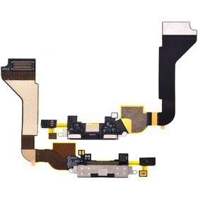 Шлейф / плата на системный разъём черный (оригинал) Apple iPhone 4 A1332 GSM