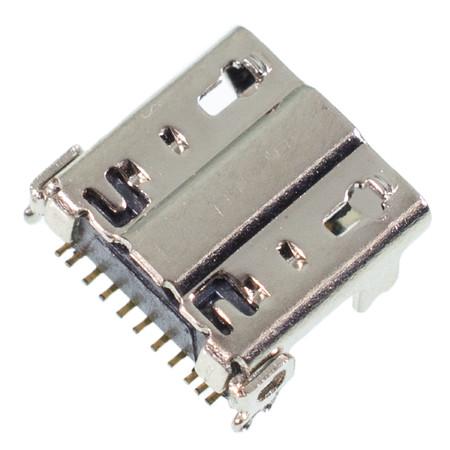 Разъем системный Micro USB для Samsung Galaxy Note II GT-N7100 (ORIG) / MC-169