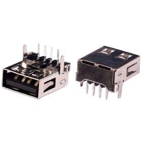 Разъем USB 2.0 / на плате / 14 x14mm / обратный / без юбки / Dell Inspiron N5040