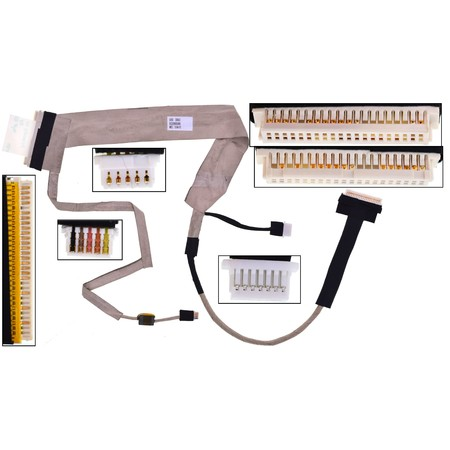 Шлейф матрицы Toshiba Satellite L500 / DC02000S800 LVDS Cable