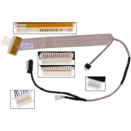 Шлейф матрицы Lenovo IdeaPad Y410p / DC02000ET00