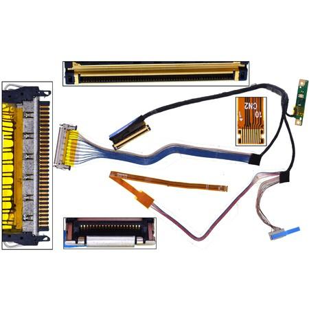 Шлейф матрицы Dell Latitude E6400 (PP27L) / DC02000I10L