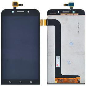 Модуль (дисплей + тачскрин) Asus ZenFone Max (ZC550KL) черный
