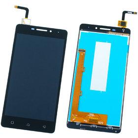 Модуль (дисплей + тачскрин) Lenovo Vibe P1m черный