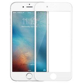 Защитное стекло для Apple iPhone 6 белый (полное покрытие 4D)