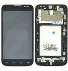 Модуль (дисплей + тачскрин) LG L70 D325 черный