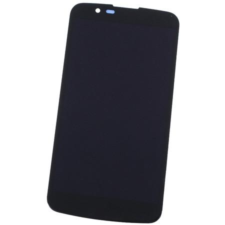 Модуль (дисплей + тачскрин) черный (без микросхем) для LG K10 K430N