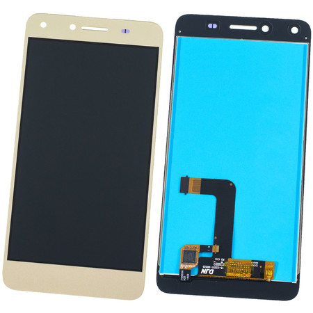 Модуль (дисплей + тачскрин) золото Huawei Y5 II (CUN-U29)