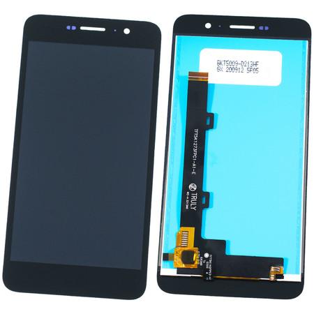 Модуль (дисплей + тачскрин) для Honor 4C Pro (TIT-L01) черный