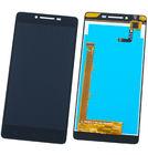 Модуль (дисплей + тачскрин) для Lenovo A6010 черный