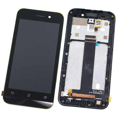 TFT5K1623FPC-A1-E Модуль (дисплей + тачскрин) черный с рамкой