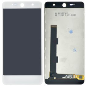 Модуль (дисплей + тачскрин) белый Wileyfox Swift 2 Plus