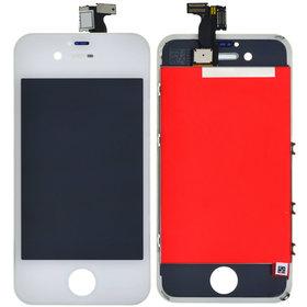Модуль (дисплей + тачскрин) для Apple Iphone 4 белый