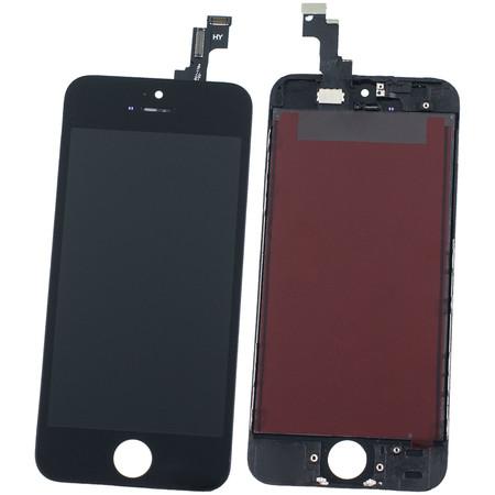 Модуль (дисплей + тачскрин) для Apple iPhone 5S черный