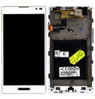 Модуль (дисплей + тачскрин) для LG Optimus L9 P768 LM468VN1A V03 белый