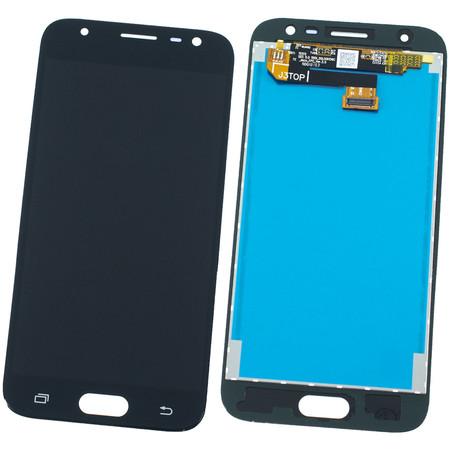 Модуль (дисплей + тачскрин) для Samsung Galaxy J3 (2017) SM-J330F черный TFT (регулируемая подсветка)