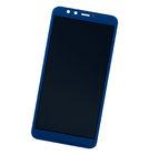 Модуль (дисплей + тачскрин) синий Honor 9 lite (LLD-L31)