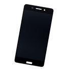 Модуль (дисплей + тачскрин) черный Nokia 6 (2017) TA-1021