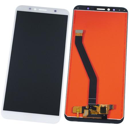 Модуль (дисплей + тачскрин) для Honor 7A Pro (AUM-L29) белый (лого Honor)