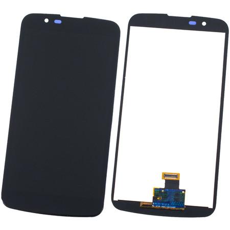 Модуль (дисплей + тачскрин) черный (с микросхемой 8pin) для LG K10 K430N