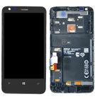 Модуль (дисплей + тачскрин) для Nokia Lumia 620 51916 FPC-3 REV.3 черный